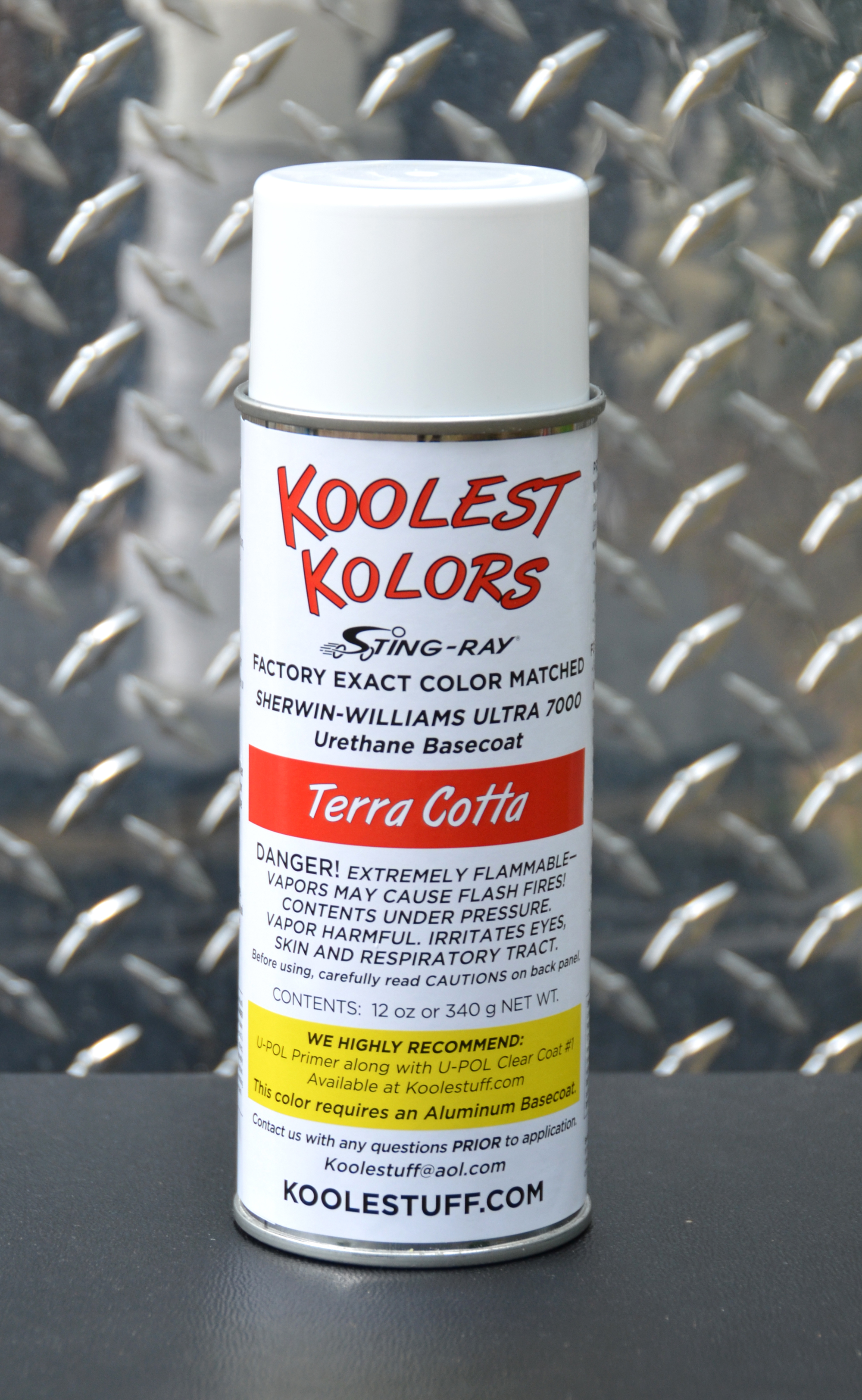 Koolest Kolors Aerosol Spray Paint